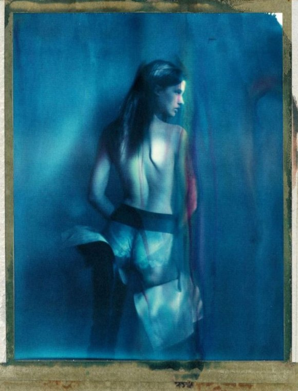 Julia Van Os by Paolo Roversi for Self Service