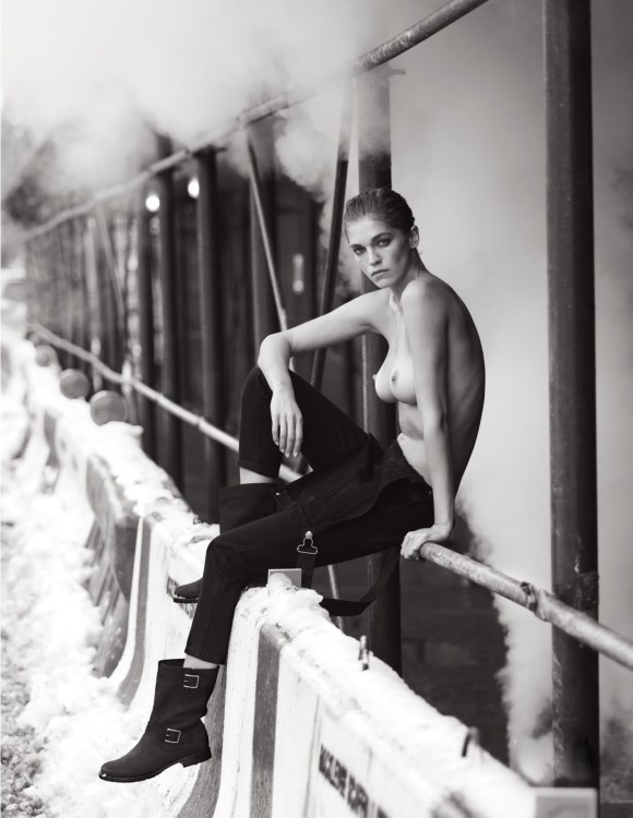 Samantha Gradoville and Flavia Lucini by David Bellemere for Lui Magazine