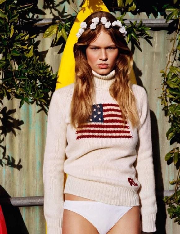 Anna Ewers by Alasdair McLellan for Vogue Paris