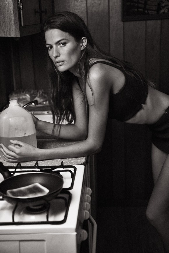 Cameron Russell by Lachlan Bailey for Holiday Magazine