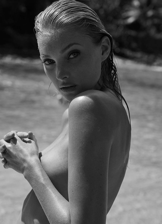 Elsa Hosk by David Roemer for Madame Figaro