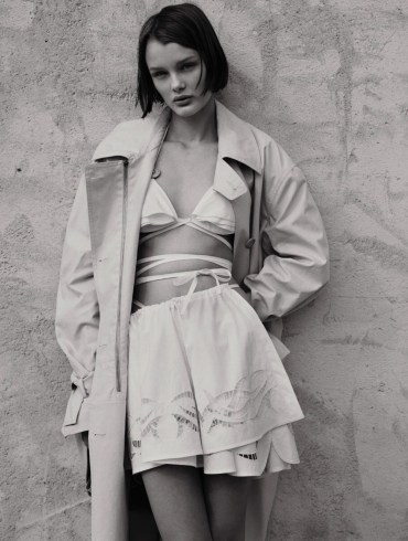 Kris Grikaite by Ben Weller for Vogue Russia