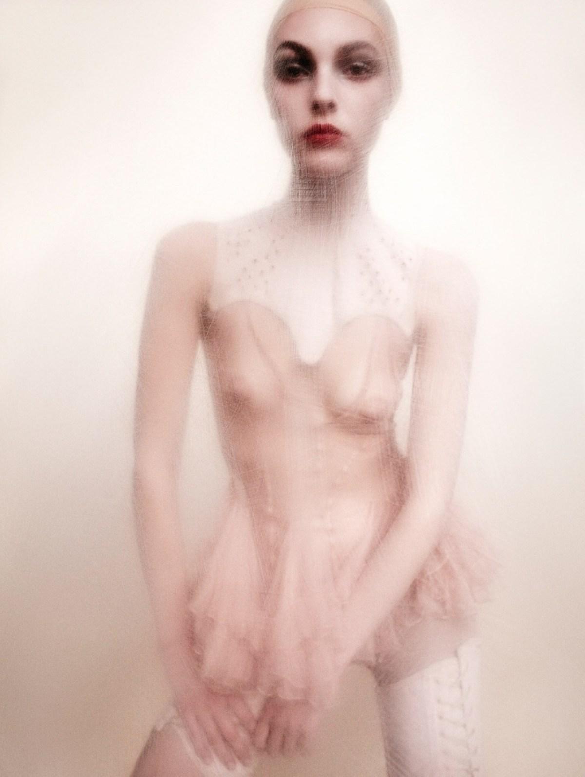 Vittoria Ceretti by Luigi Murenu and Iango Henzi for Exhibition Magazine