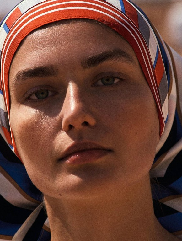 Andreea Diaconu by Cedric Buchet for L'Express Styles