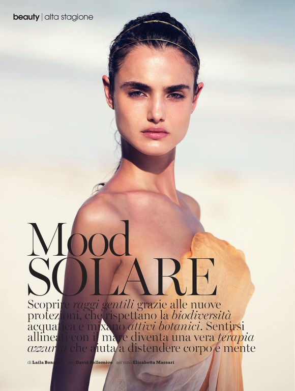 Blanca Padilla by David Bellemere for Marie Claire 2 Italia