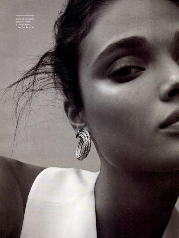 Daniela Braga by Cecilia Duarte for Elle Brasil