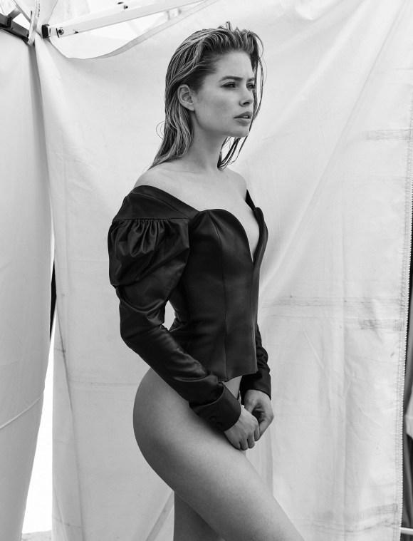 Doutzen Kroes by Chris Colls for Vogue Ukraine