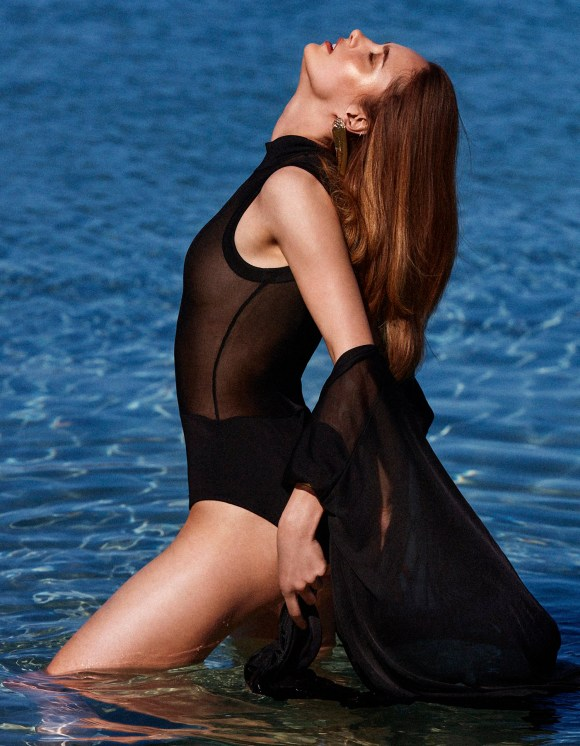 Karmen Pedaru by Alvaro Beamud Cortes for Vogue Spain