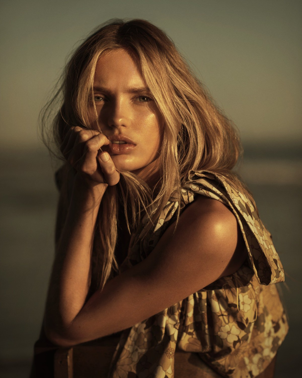 Romee Strijd by Jan Welters for Vogue Netherlands