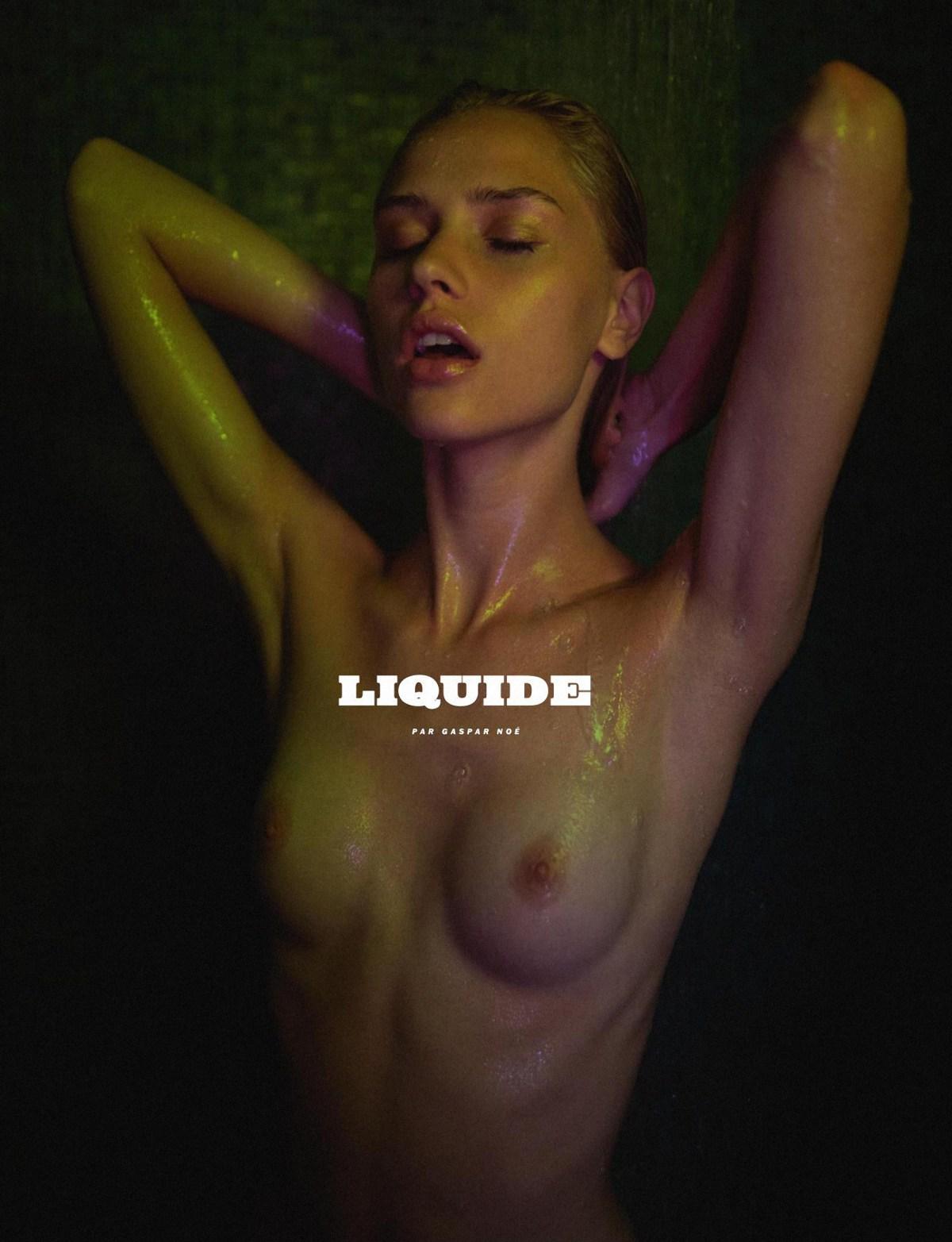 Claire Guena by Gaspar Noe for Lui France