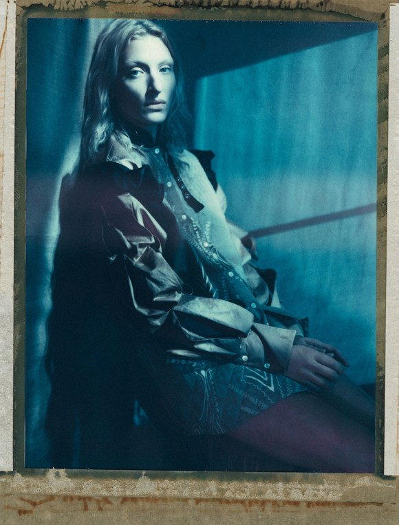 Maggie Maurer by Paolo Roversi for Self Service