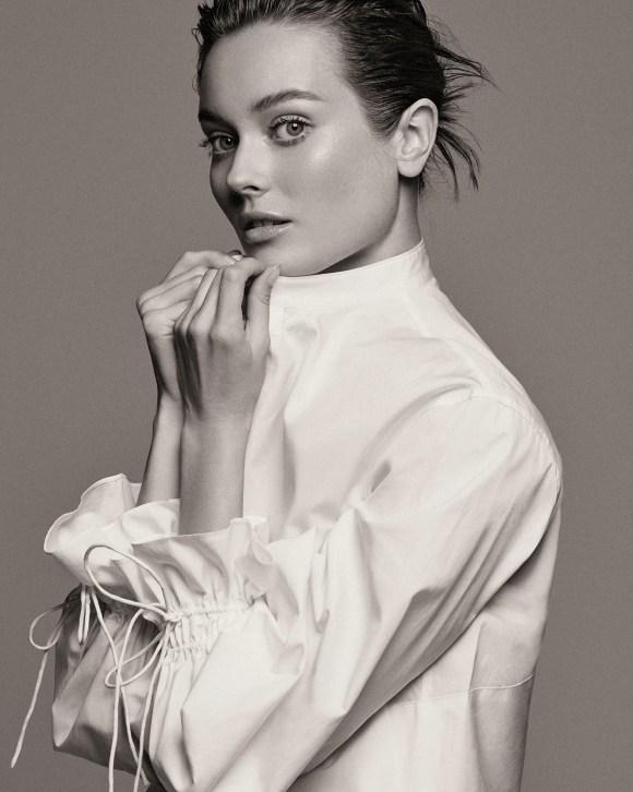 Monika Jac Jagaciak by Tom Schirmacher for Harper's Bazaar Turkey