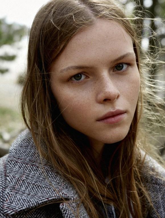 Eline Bocxtaele by Johan Sandberg for Elle Sweden