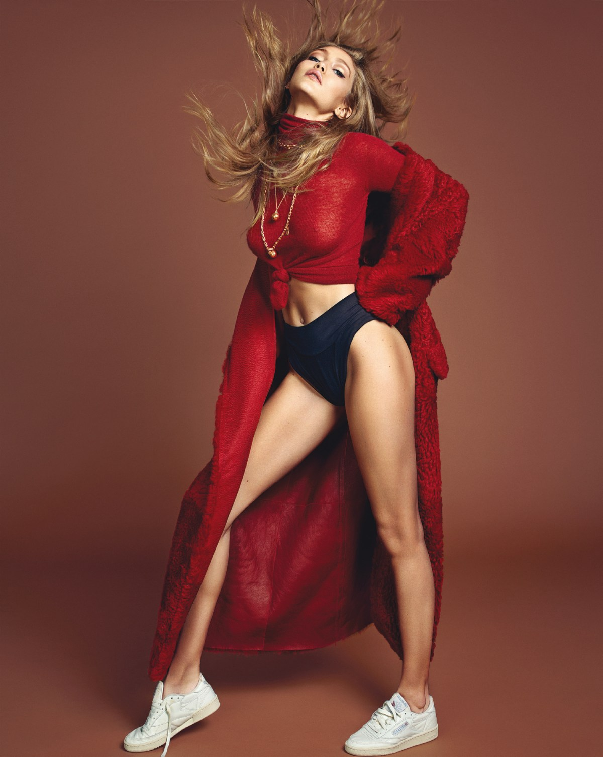 Gigi Hadid by Henrique Gendre for Vogue Korea