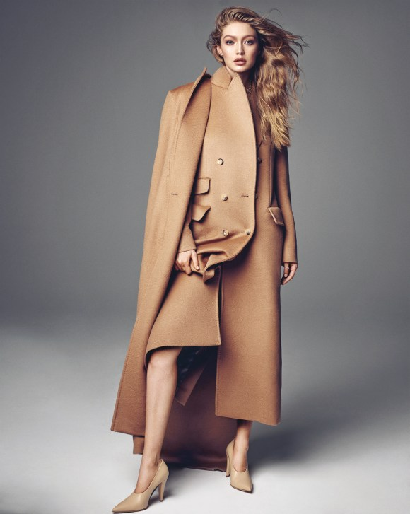 Gigi Hadid by Henrique Gendre for Vogue Korea