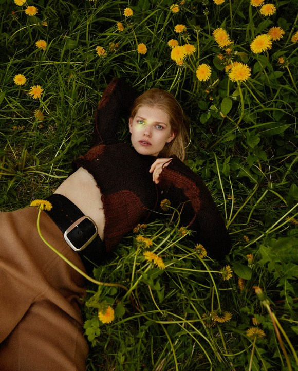 Ola Rudnicka by Jesse Laitinen for Marie Claire France