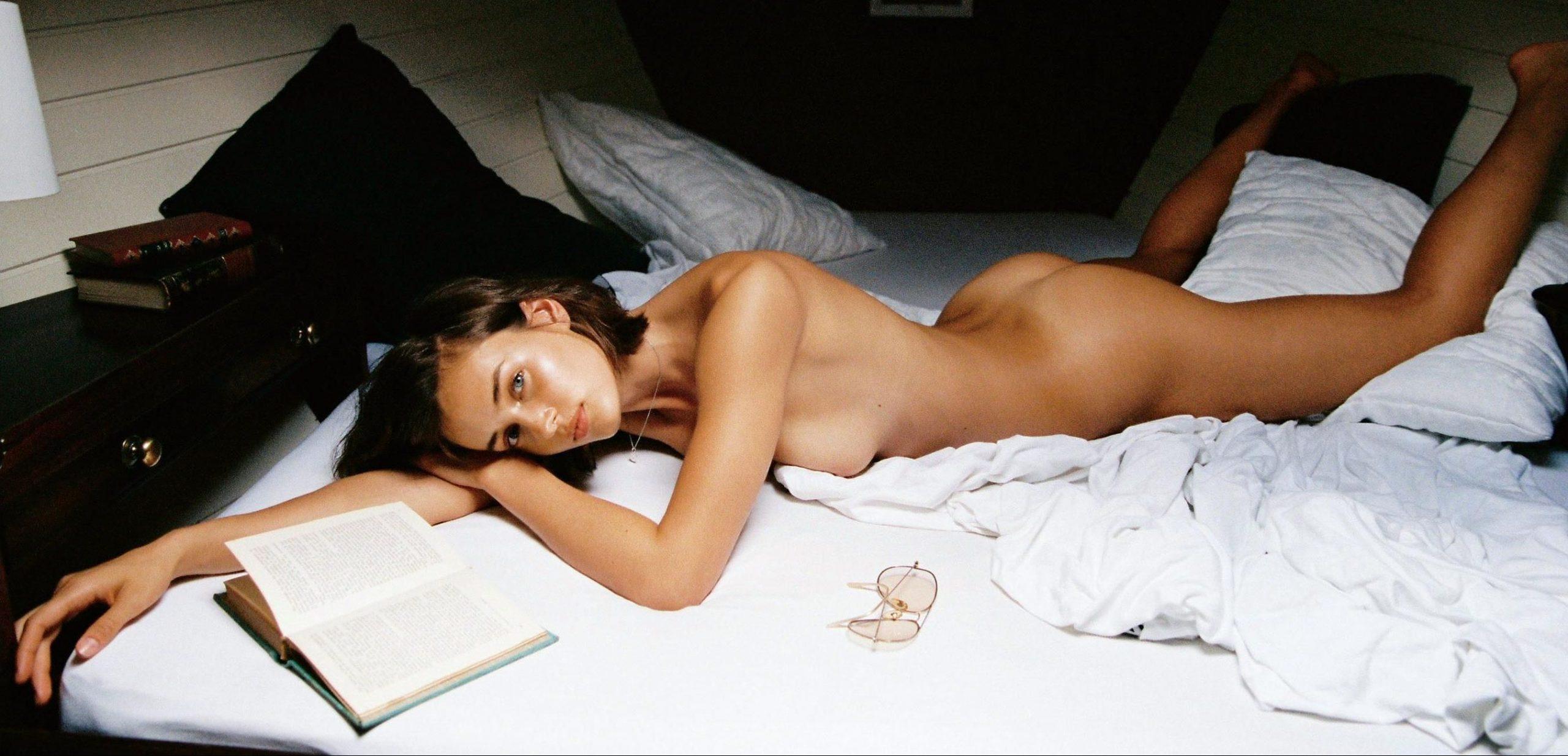 Johanne Landbo photographed by Cameron Hammond for Playboy, November & December 2017 1