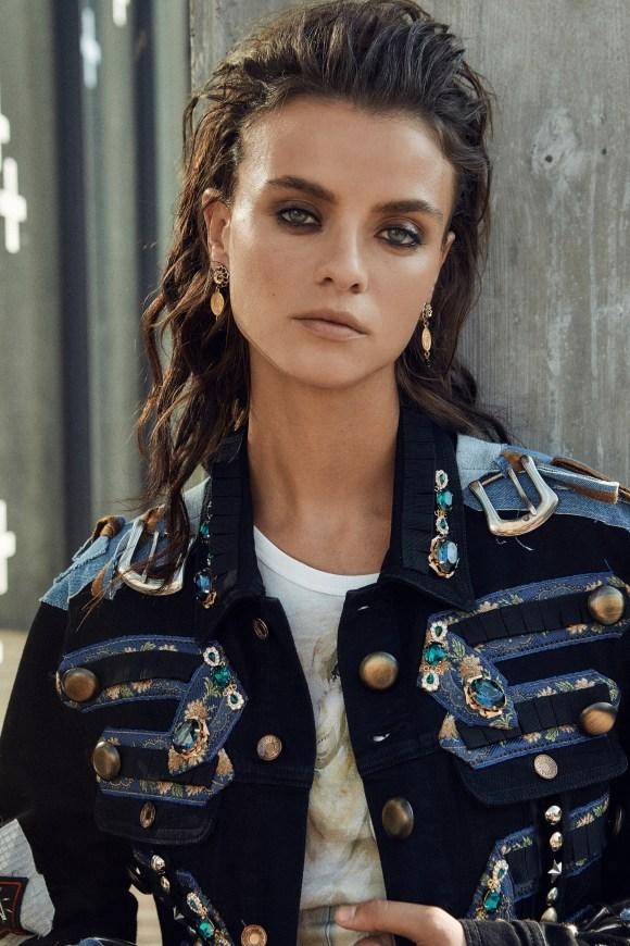 Lais Oliveira by Lena Melnik for Elle Kazakhstan