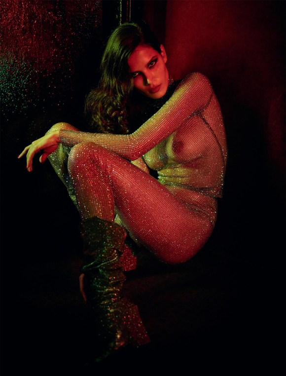 Raica Oliveira by Gaspar Noe for Lui Magazine