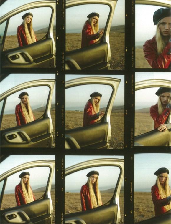 Lucan Gillespie by Anya Holdstock for British Girls Magazine