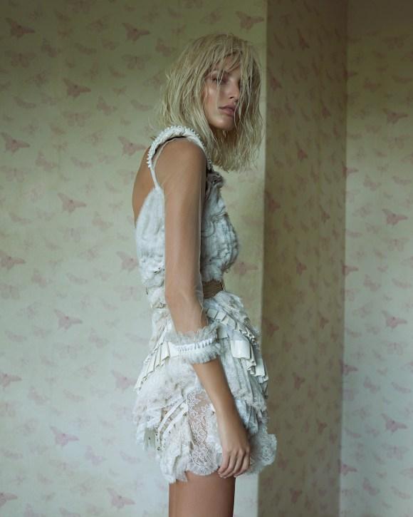 Michaela Kocianova by Andreas Ortner for Elle Czech Republic