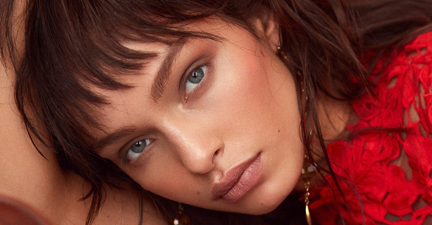 Luma Grothe photographed by Greg Swales for Elle Serbia, February 2018