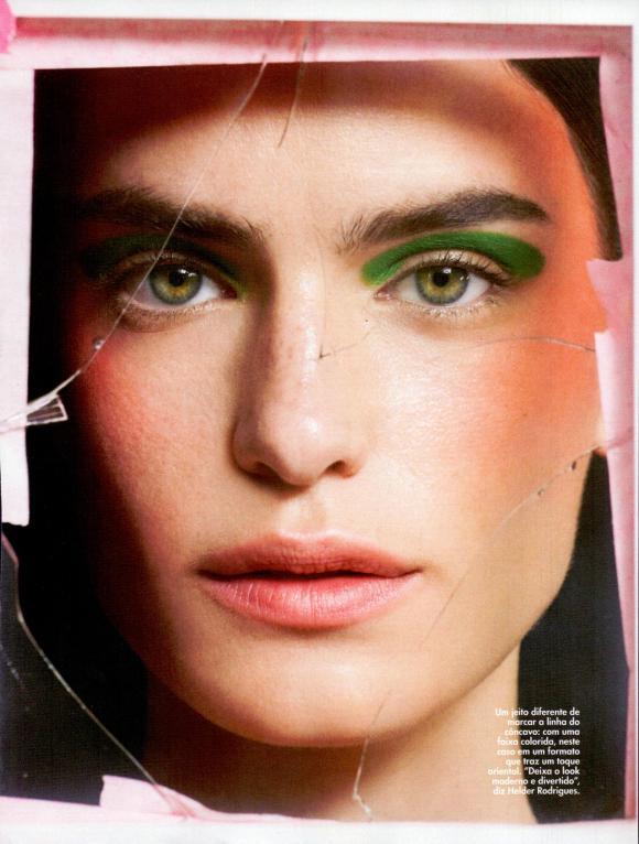 Renata Sozzi by Fernando Tomaz for Elle Brasil