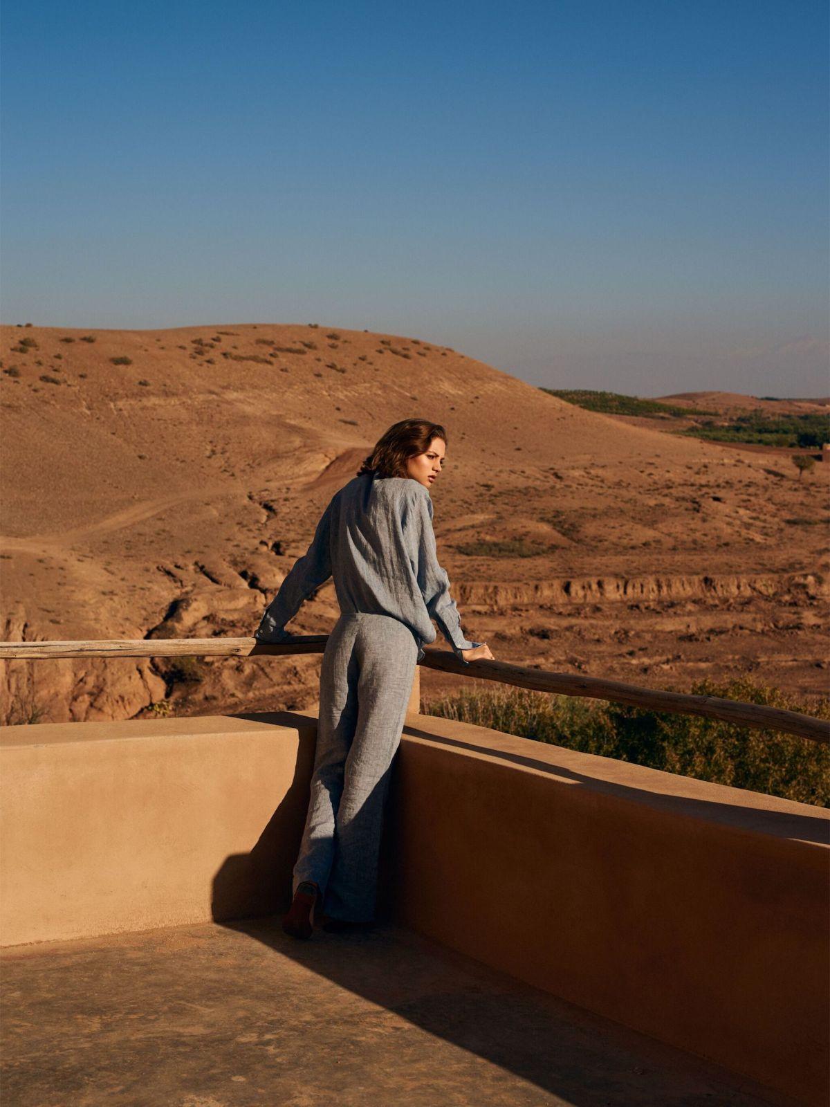Alesya Kafelnikova by David Cohen de Lara for Tatler