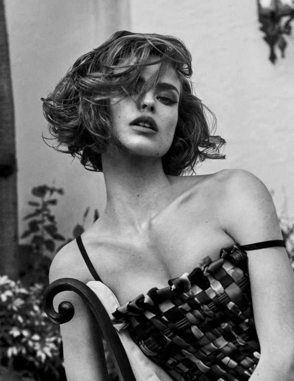 Birgit Kos by Giampaolo Sgura for Vogue Germany