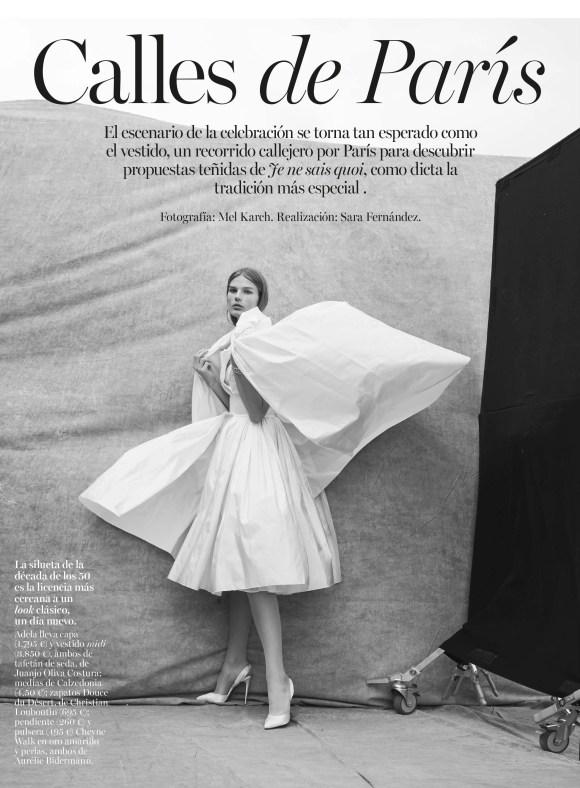 Adela Stenberg by Mel Karch for Vogue Spain