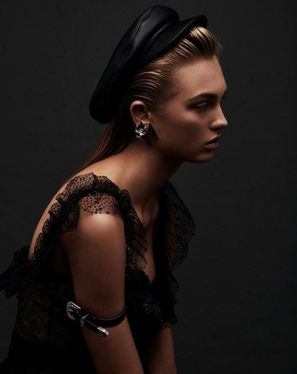 Romee Strijd by Adam Franzino for Harper's Bazaar Greece