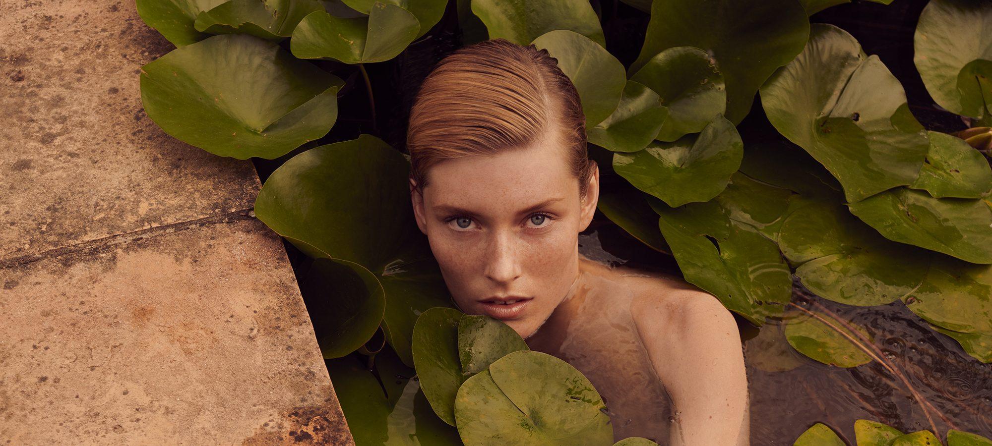 Caroline Lossberg photographed by Andreas Ortner for Vogue Portugal, September 2018