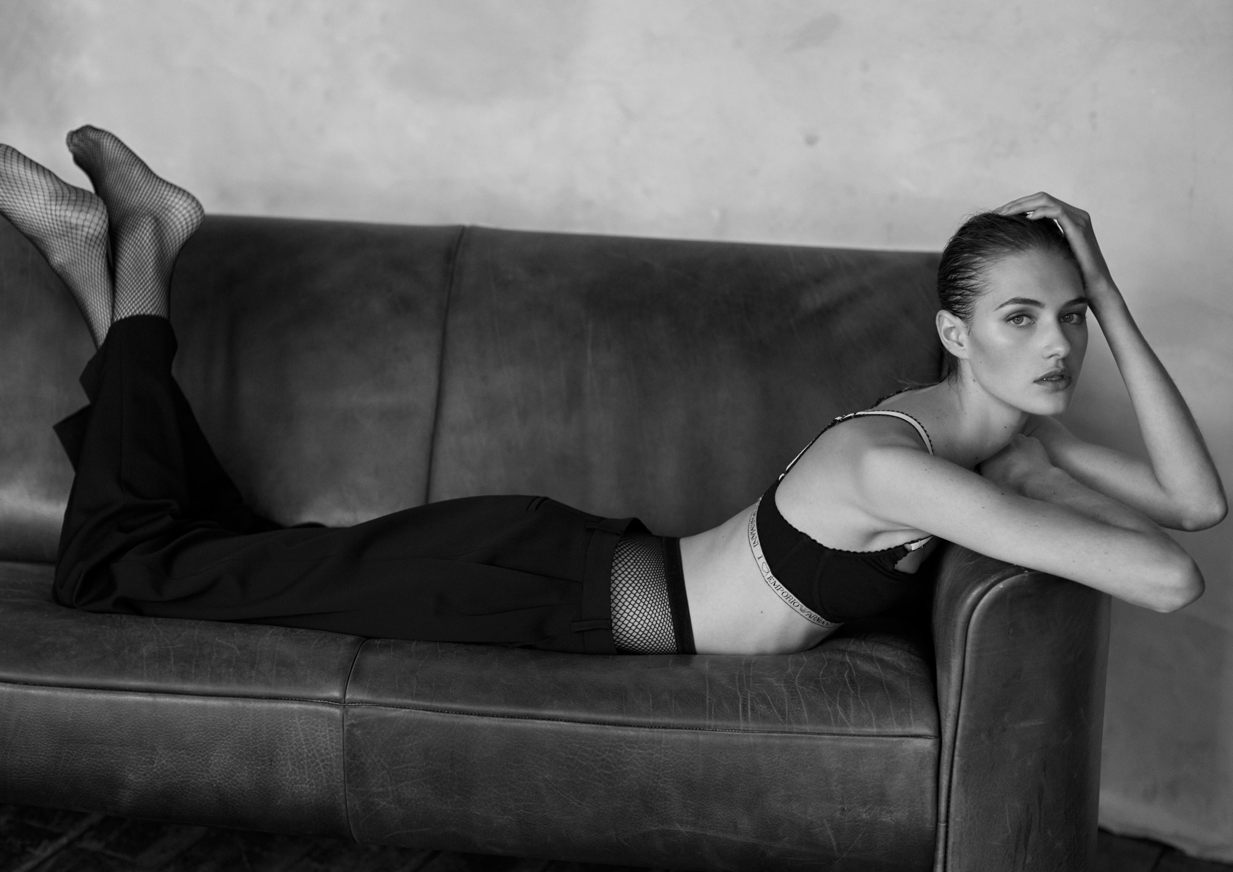 Sanne Vloet by Sam Hendel for Russh Magazine