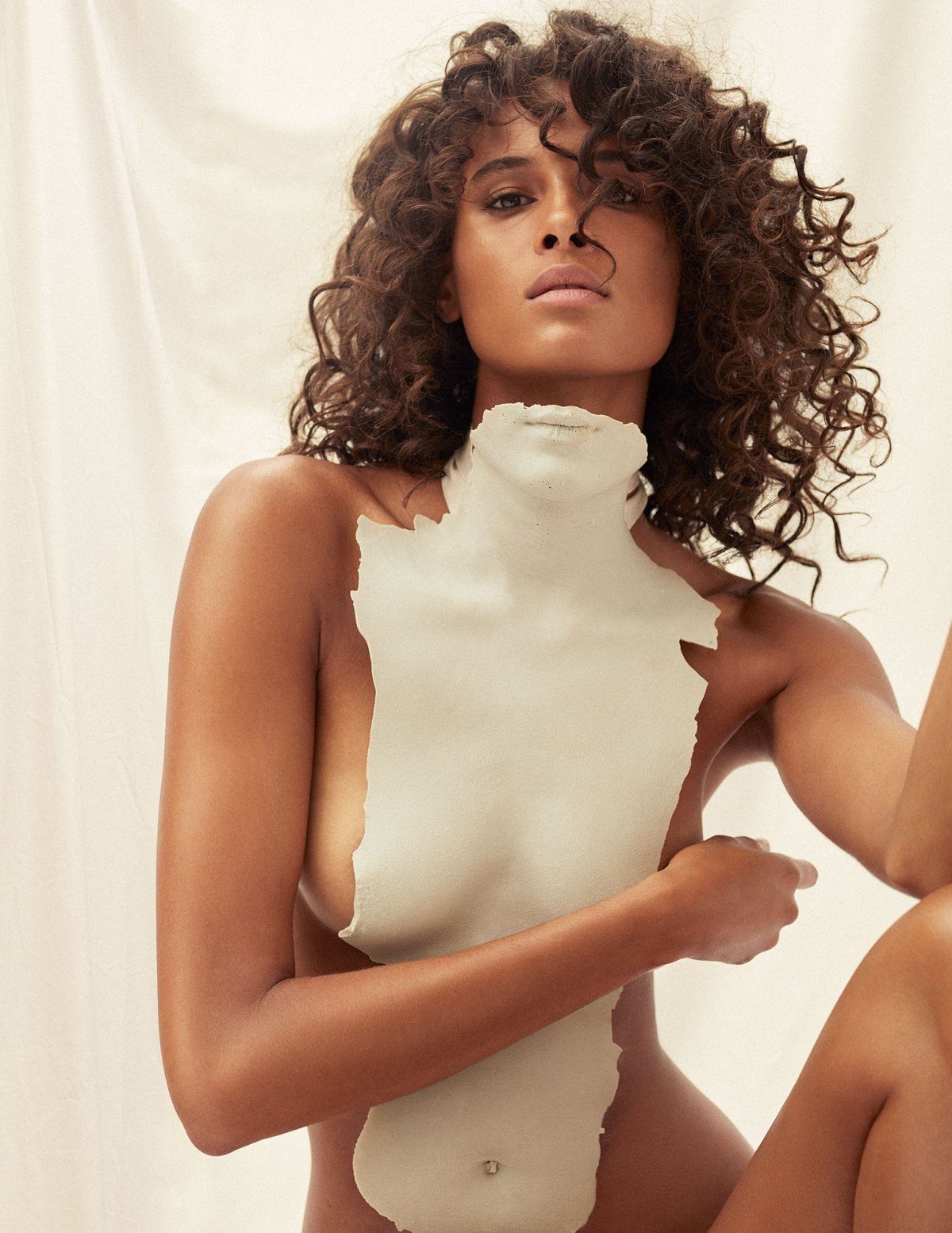 Cindy Bruna by Felix Valiente for Vogue España