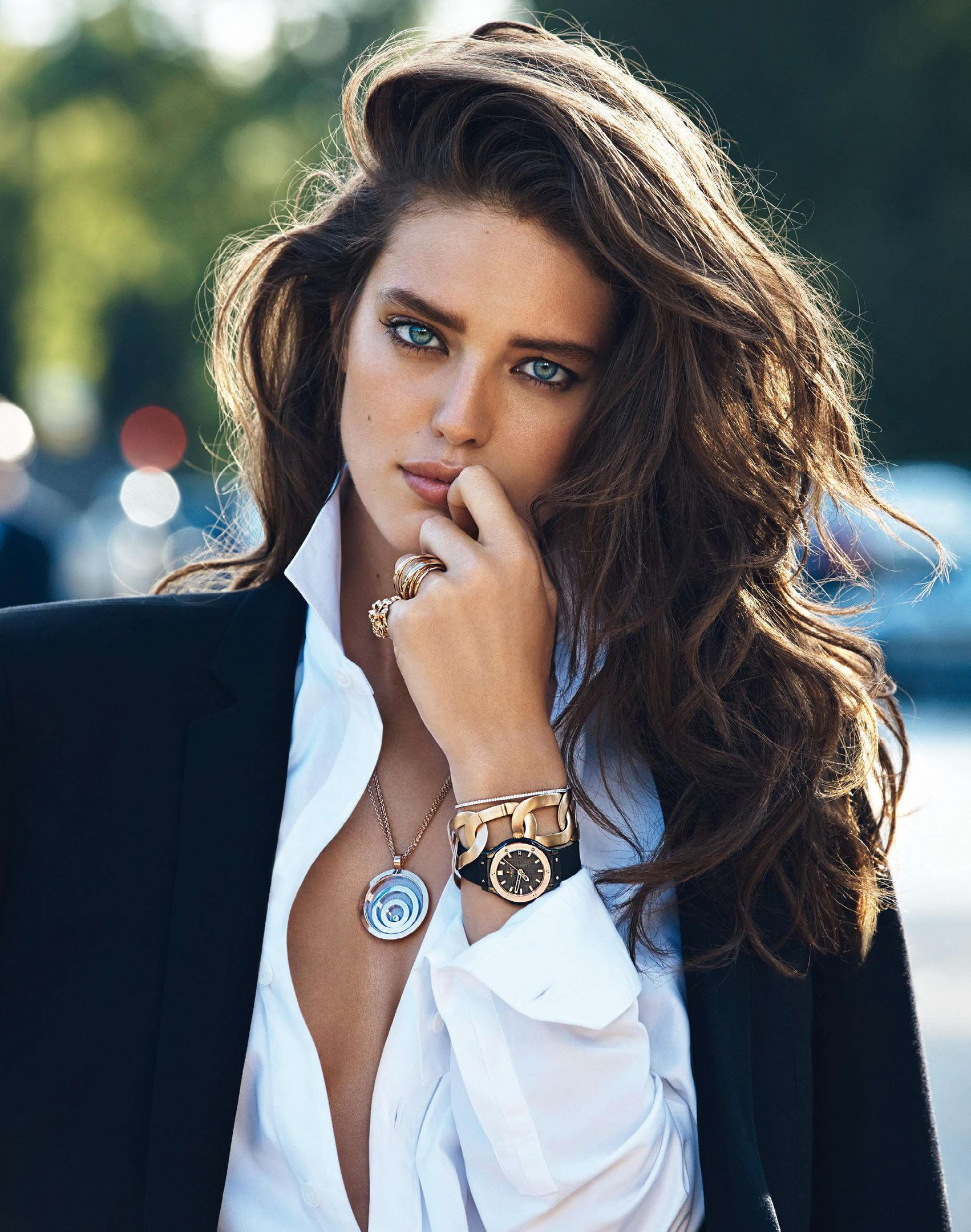Emily DiDonato by Lachlan Bailey for Vogue Paris Old But Gold: Here's One From The Archives