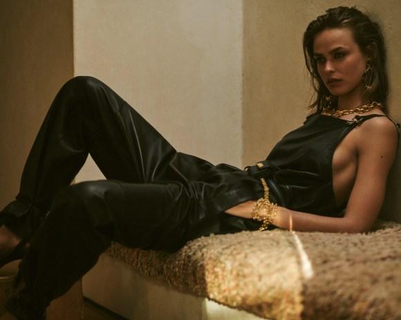 Birgit Kos by Blair Getz Mezibov for Elle France