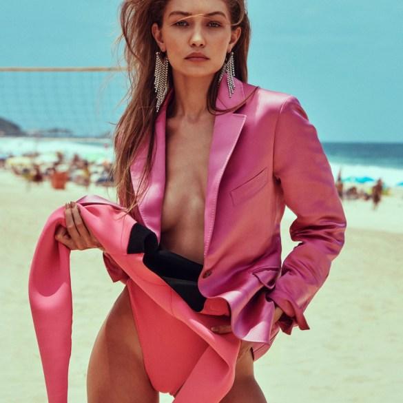 Gigi Hadid by Chris Colls for Elle, March 2019 2