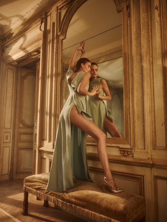 Marthe Wiggers by Lina Tesch for Galeries Lafayette