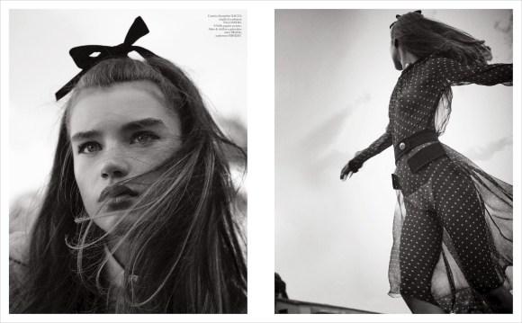Megan Roche by Giampaolo Sgura for Vogue Italia