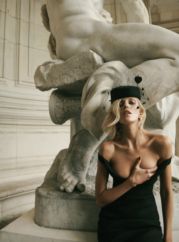 Anja Rubik by Lachlan Bailey for Vogue Paris
