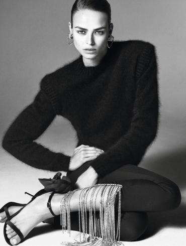Birgit Kos by Christian MacDonald for Vogue Paris