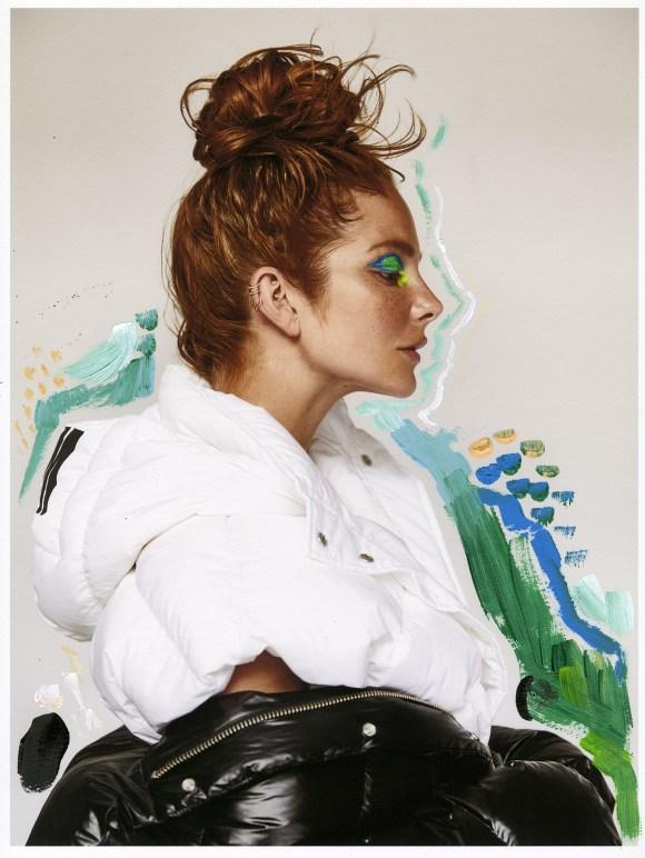 Eniko Mihalik by Lina Tesch for Les Nouvelles
