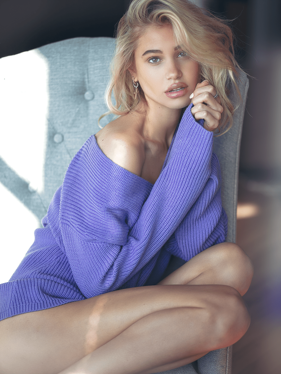 Meredith Mickelson by Victor Robertof