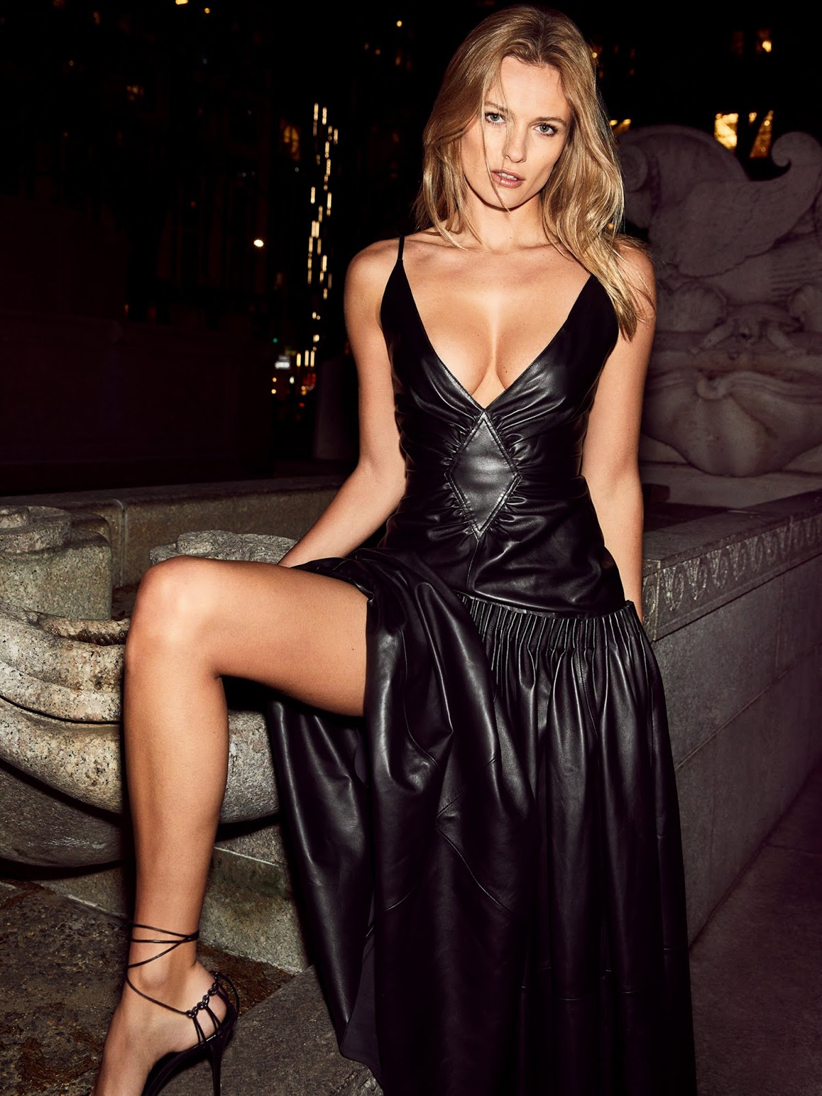 Edita Vilkeviciute by Carin Backoff for Porter Edit