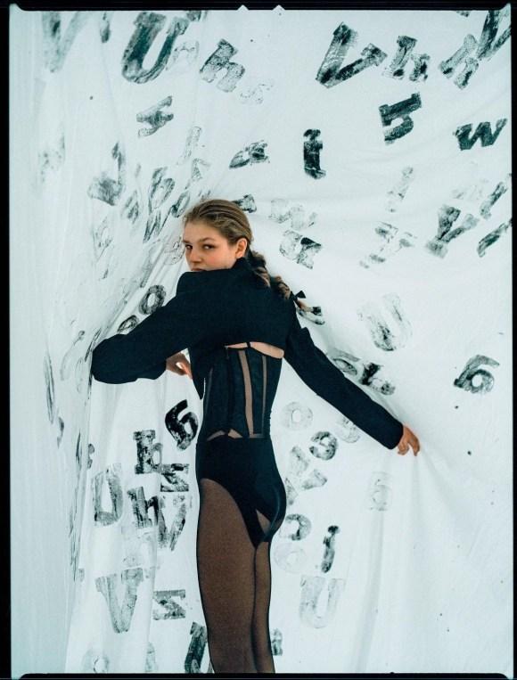 Deirdre Firinne by Sonia Szostak for Numéro