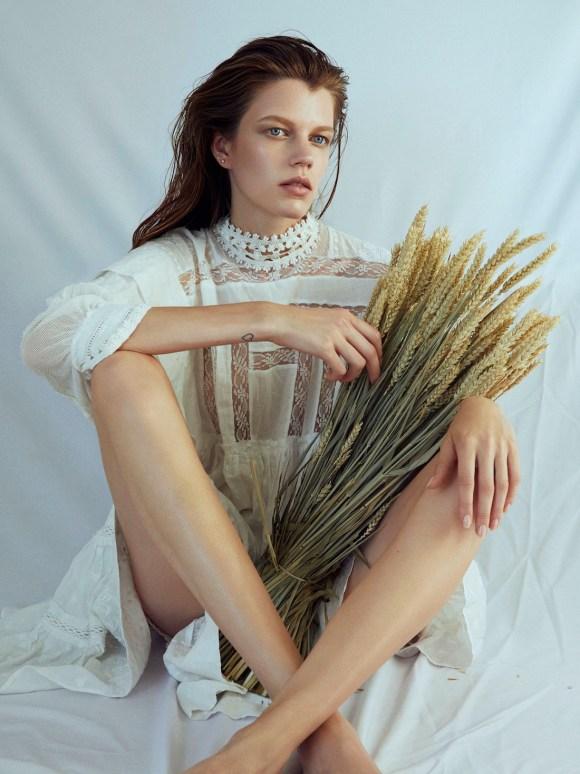 Antonia Wesseloh by Max Liebenstein