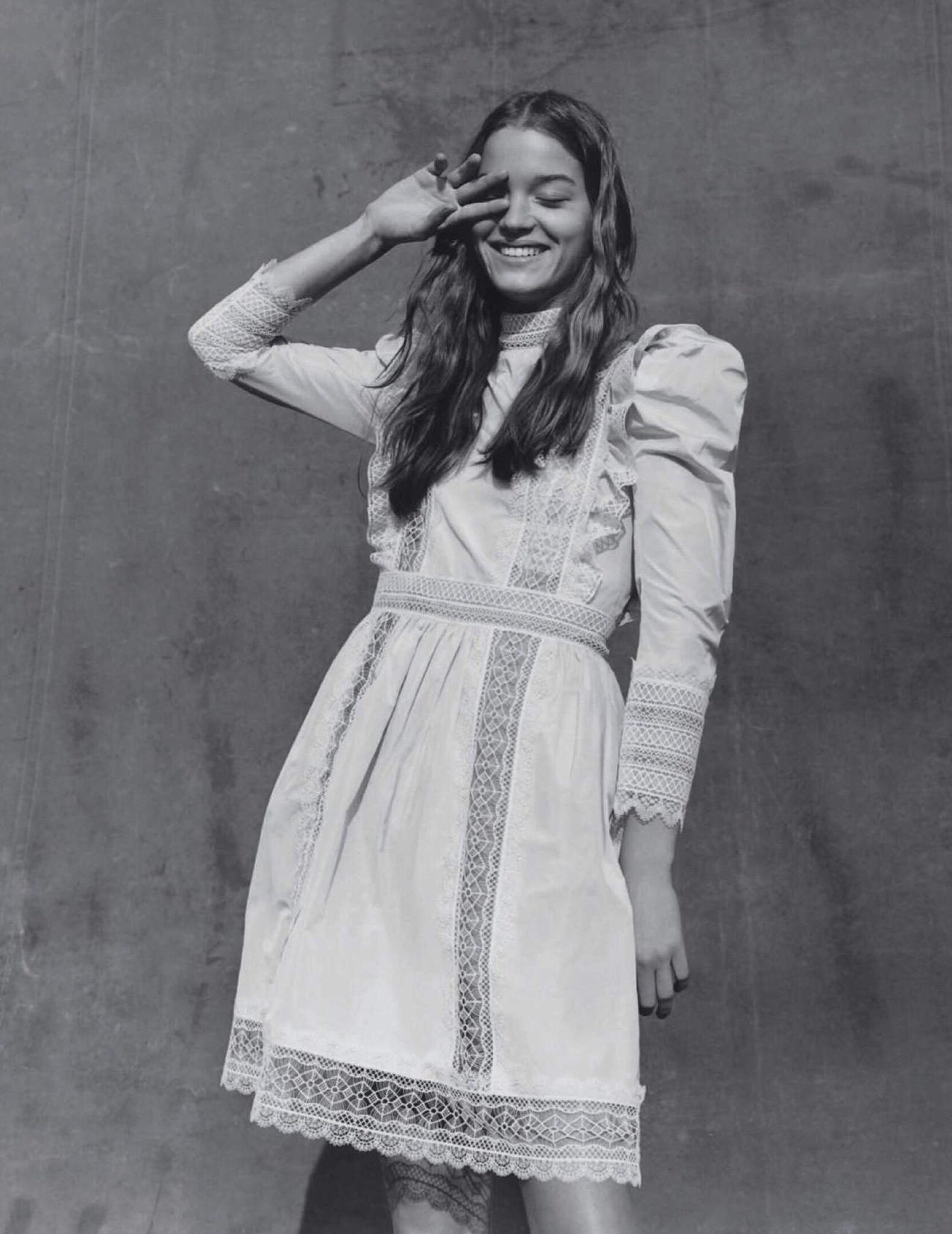 Laurijn Bijnen by Ben Weller for Vogue Spain