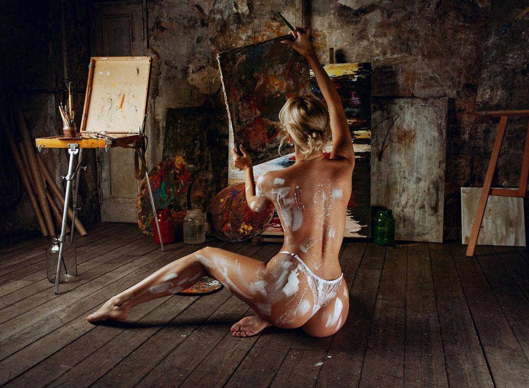 Alexandra Romanovna by Evgeny Potanin