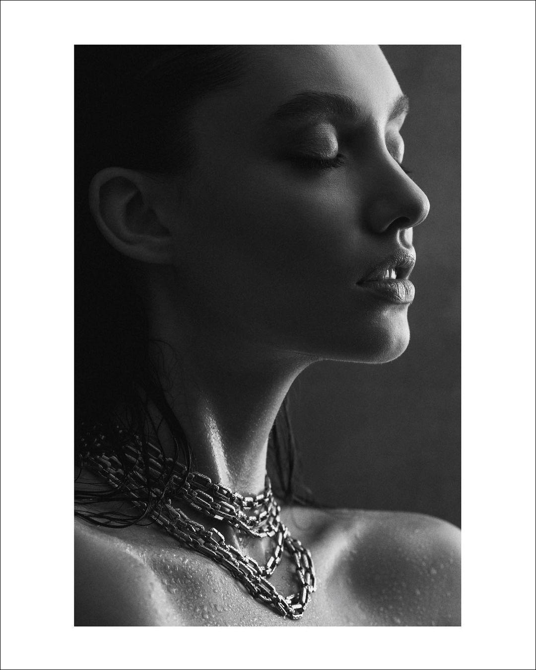 Polina Litvinova by Olga Mordach