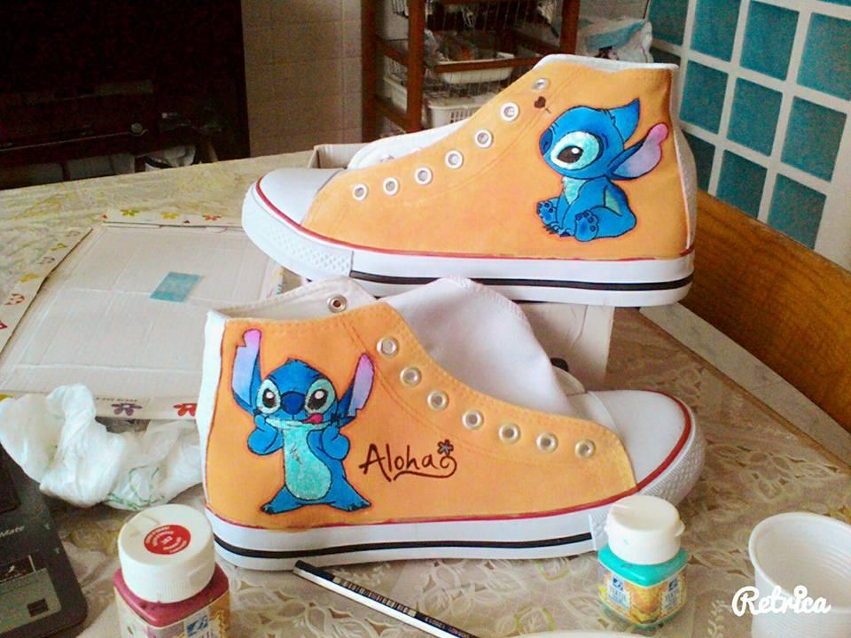 Scarpe personalizzate - Disney Lilo e Stitch